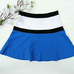 Express colorblocked knit skirt size 8